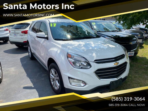 2017 Chevrolet Equinox for sale at Santa Motors Inc in Rochester NY