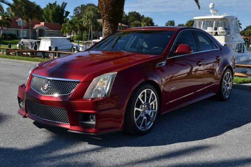2012 Cadillac CTS-V for sale at GulfCoast Motorsports in Osprey FL