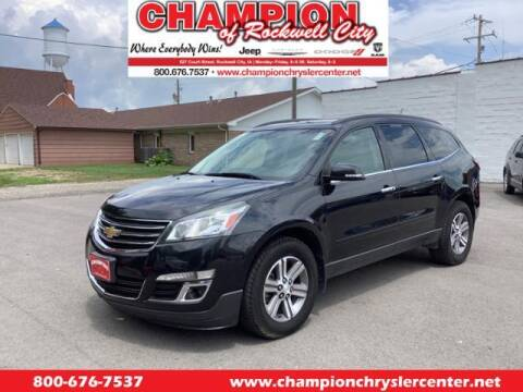 2015 Chevrolet Traverse for sale at CHAMPION CHRYSLER CENTER in Rockwell City IA