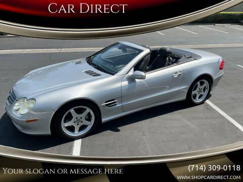 2003 Mercedes-Benz SL-Class for sale at Car Direct in Orange CA