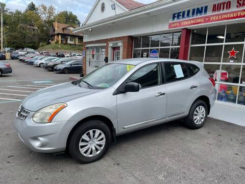 2011 Nissan Rogue for sale at Fellini Auto Sales & Service LLC in Pittsburgh PA