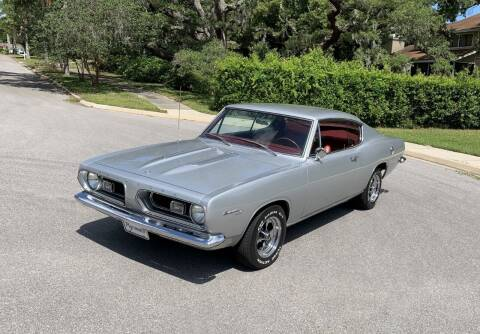 1967 Plymouth Barracuda for sale at P J'S AUTO WORLD-CLASSICS in Clearwater FL