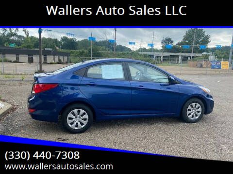 2017 Hyundai Accent for sale at Wallers Auto Sales LLC in Dover OH