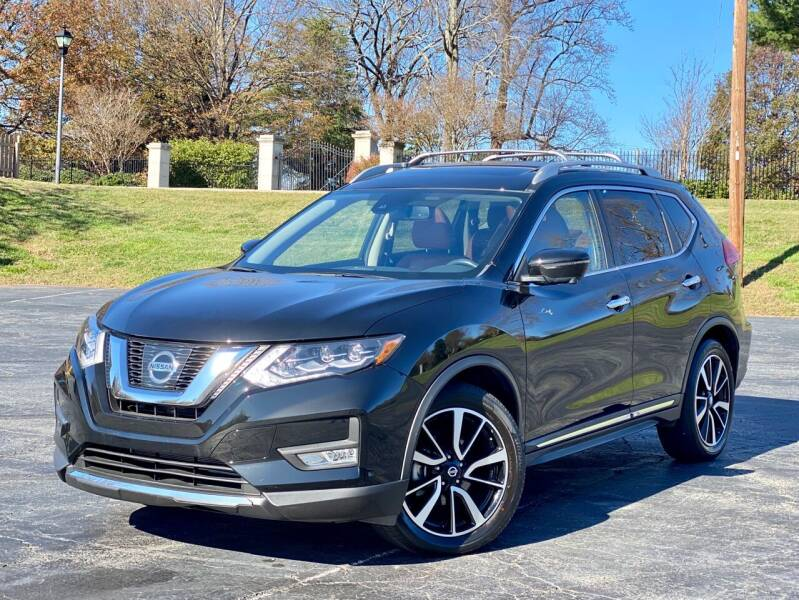2017 Nissan Rogue for sale at Sebar Inc. in Greensboro NC
