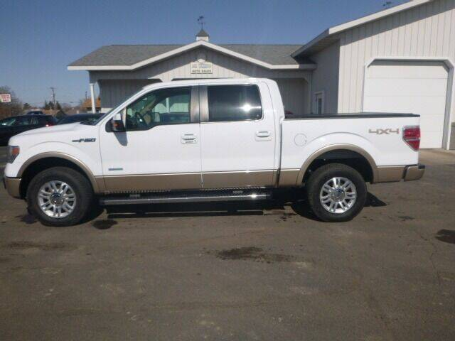 2013 Ford F-150 for sale at JIM WOESTE AUTO SALES & SVC in Long Prairie MN