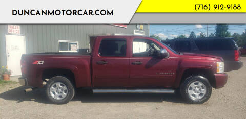 2008 Chevrolet Silverado 1500 for sale at DuncanMotorcar.com in Buffalo NY
