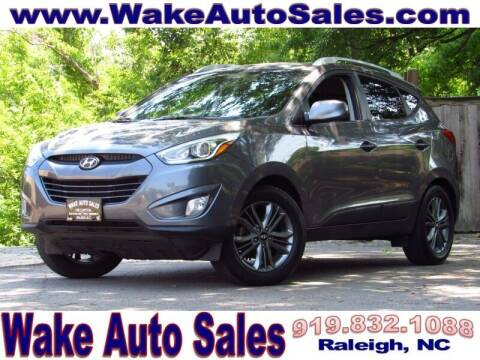 2015 Hyundai Tucson for sale at Wake Auto Sales Inc in Raleigh NC