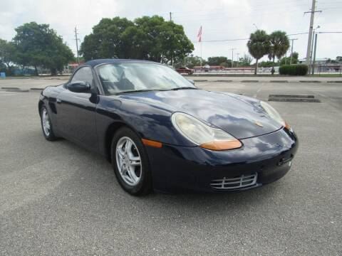 2002 Porsche Boxster for sale at United Auto Center in Davie FL