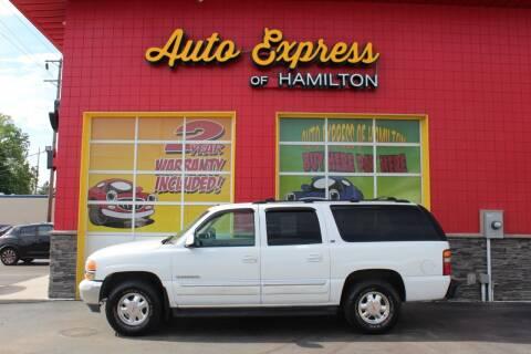 2002 GMC Yukon XL for sale at AUTO EXPRESS OF HAMILTON LLC in Hamilton OH