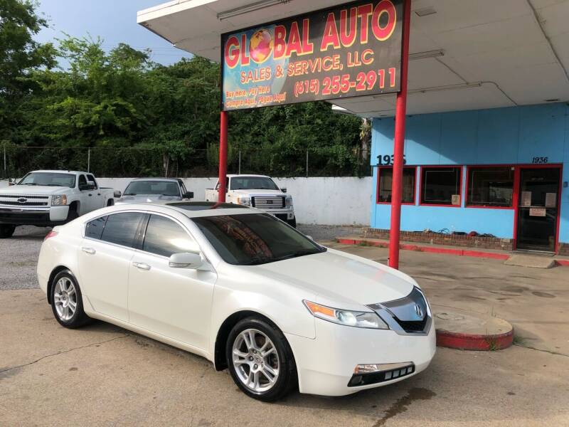 2010 Acura TL for sale at Global Auto Sales and Service in Nashville TN
