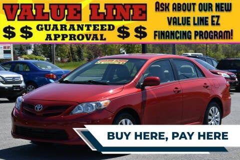 2013 Toyota Corolla for sale at Broadway Garage of Columbia County Inc. in Hudson NY