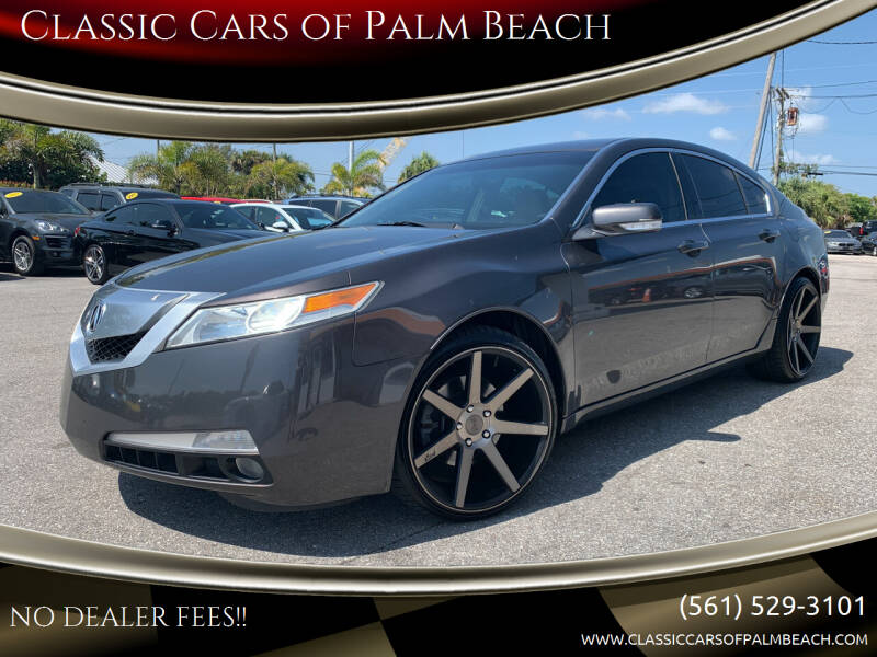 2011 Acura TL for sale at Classic Cars of Palm Beach in Jupiter FL