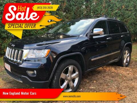2011 Jeep Grand Cherokee for sale at New England Motor Cars in Springfield MA