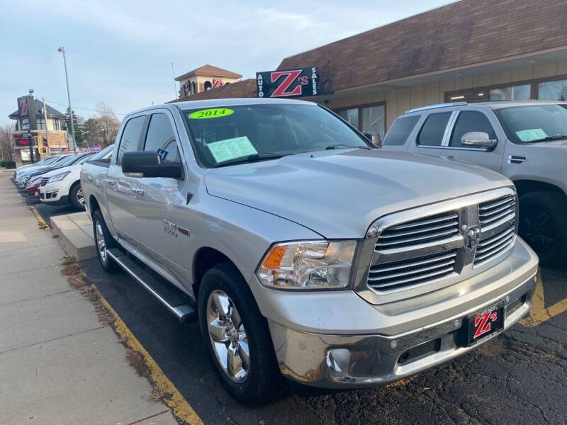 2014 RAM Ram Pickup 1500 for sale at Zs Auto Sales in Kenosha WI