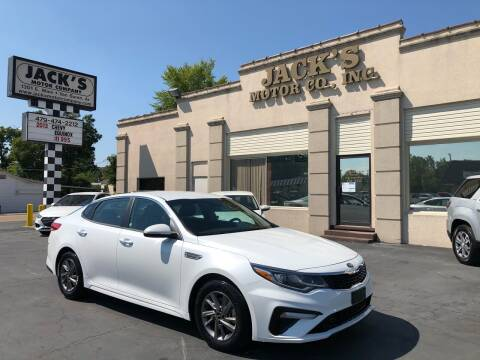 2020 Kia Optima for sale at JACK'S MOTOR COMPANY in Van Buren AR
