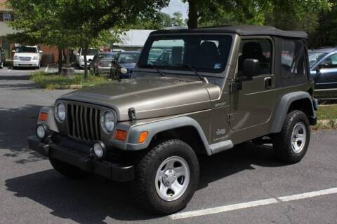 2003 Jeep Wrangler for sale at Auto Bahn Motors in Winchester VA