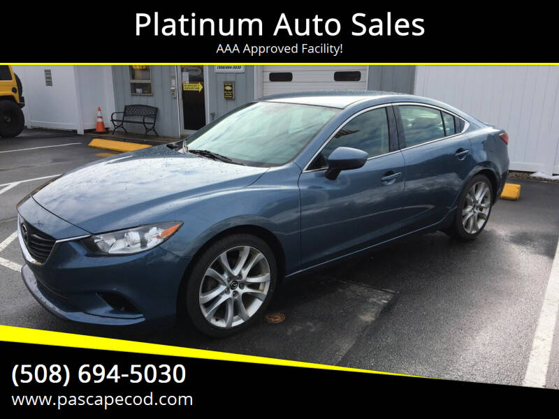 2014 Mazda MAZDA6 for sale at Platinum Auto Sales in South Yarmouth MA