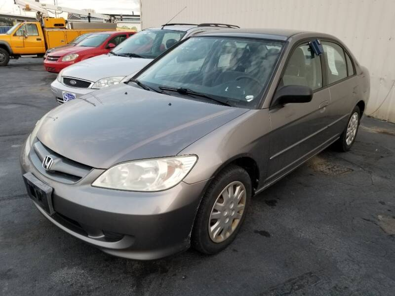 2005 Honda Civic for sale at Larry Schaaf Auto Sales in Saint Marys OH