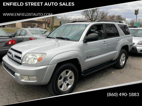 2004 Toyota 4Runner for sale at ENFIELD STREET AUTO SALES in Enfield CT