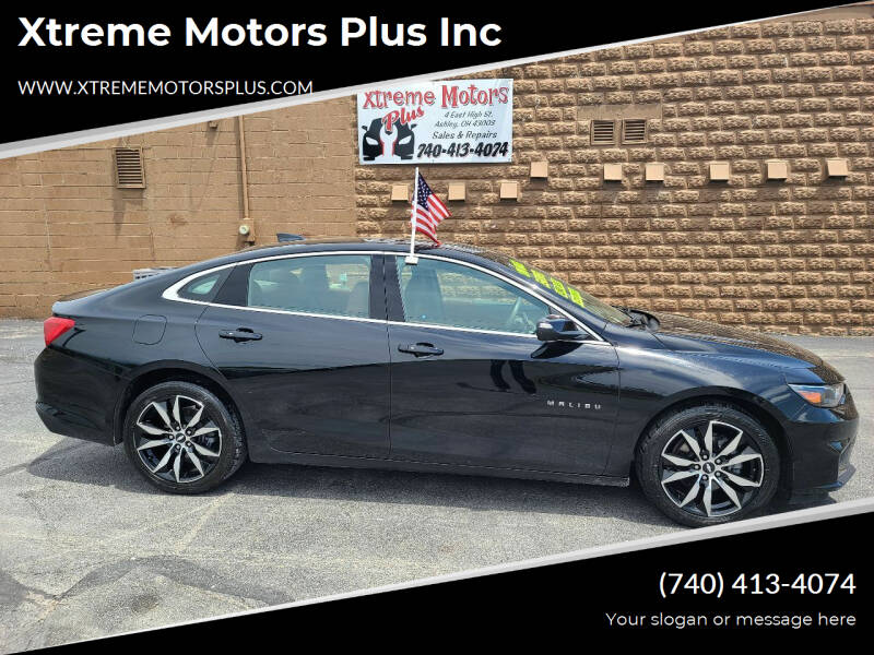 2017 Chevrolet Malibu for sale at Xtreme Motors Plus Inc in Ashley OH