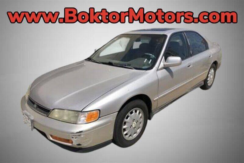 1997 Honda Accord for sale at Boktor Motors in North Hollywood CA