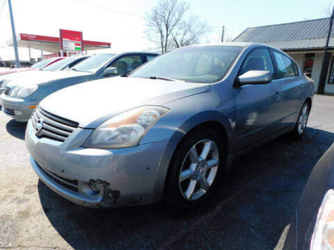 2007 Nissan Altima for sale at WOOD MOTOR COMPANY in Madison TN