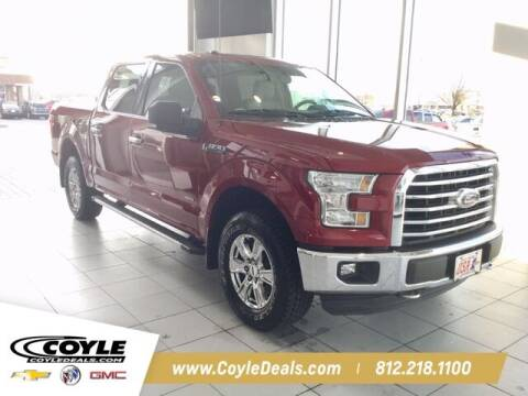 2016 Ford F-150 for sale at COYLE GM - COYLE NISSAN in Clarksville IN