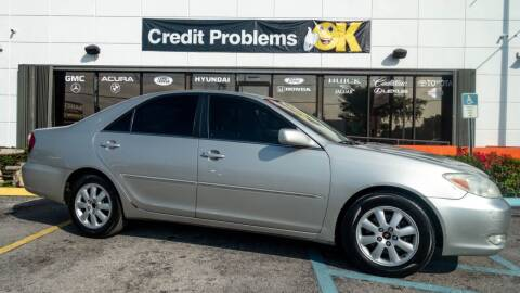 2004 Toyota Camry for sale at Car Depot in Miramar FL