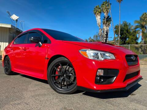 2016 Subaru WRX for sale at Imports Auto Outlet in Spring Valley CA