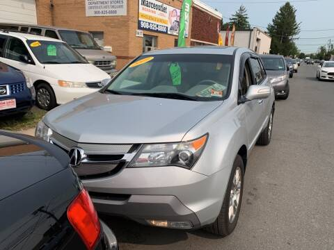 2009 Acura MDX for sale at Frank's Garage in Linden NJ