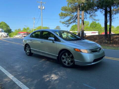 2006 Honda Civic for sale at THE AUTO FINDERS in Durham NC