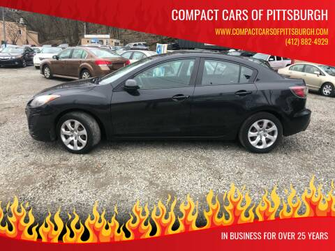 2011 Mazda MAZDA3 for sale at Compact Cars of Pittsburgh in Pittsburgh PA