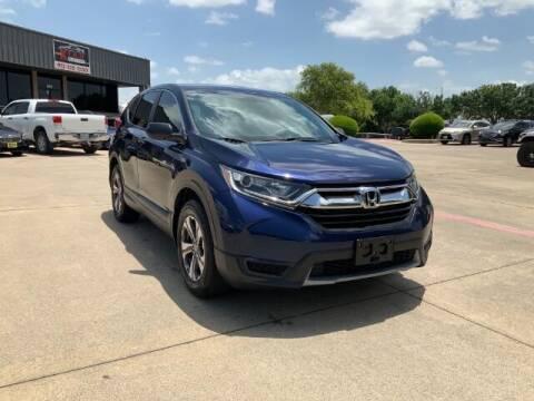2017 Honda CR-V for sale at KIAN MOTORS INC in Plano TX