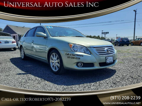 2008 Toyota Avalon for sale at Universal Auto Sales Inc in Salem OR
