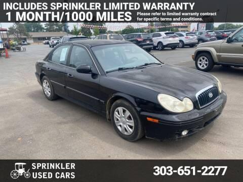2005 Hyundai Sonata for sale at Sprinkler Used Cars in Longmont CO