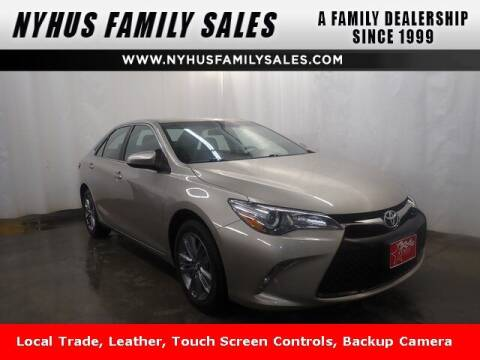 2017 Toyota Camry for sale at Nyhus Family Sales in Perham MN
