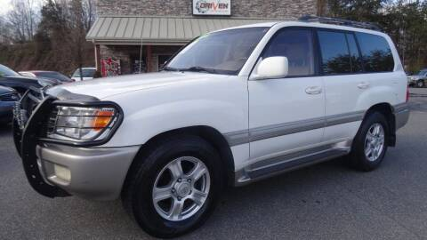 2000 Toyota Land Cruiser for sale at Driven Pre-Owned in Lenoir NC
