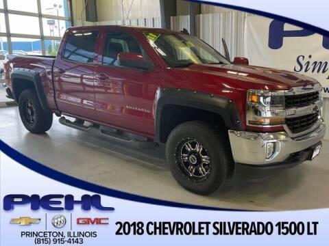 2018 Chevrolet Silverado 1500 for sale at Piehl Motors - PIEHL Chevrolet Buick Cadillac in Princeton IL
