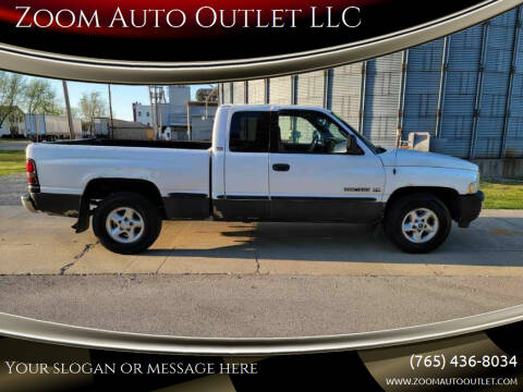 1999 Dodge Ram Pickup 1500 for sale at Zoom Auto Outlet LLC in Thorntown IN