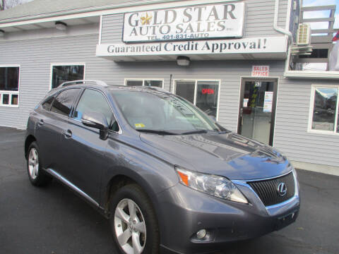 2012 Lexus RX 350 for sale at Gold Star Auto Sales in Johnston RI