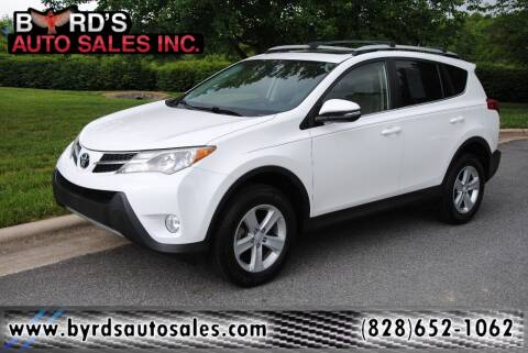 2014 Toyota RAV4 for sale at Byrds Auto Sales in Marion NC