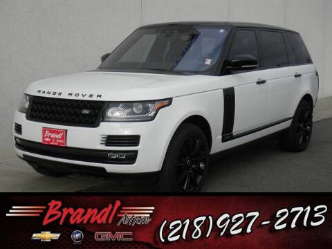 2017 Land Rover Range Rover for sale at Brandl GM in Aitkin MN