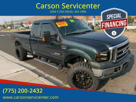 2004 Ford F-250 Super Duty for sale at Carson Servicenter in Carson City NV