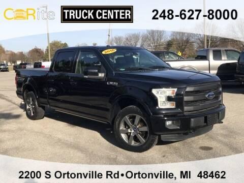 2016 Ford F-150 for sale at Carite Truck Center in Ortonville MI