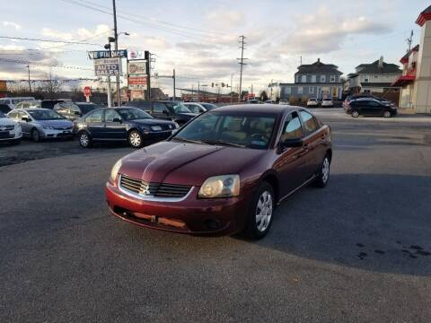 2007 Mitsubishi Galant for sale at 25TH STREET AUTO SALES in Easton PA