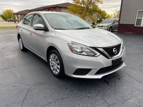 2017 Nissan Sentra for sale at Hill Motors in Ortonville MN