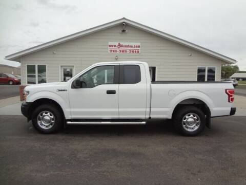 2018 Ford F-150 for sale at GIBB'S 10 SALES LLC in New York Mills MN