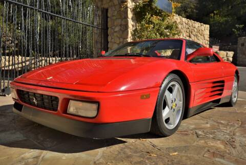 1991 Ferrari 348 for sale at Milpas Motors in Santa Barbara CA