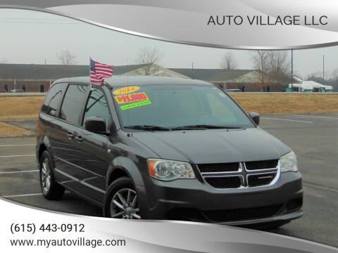 2014 Dodge Grand Caravan for sale at AUTO VILLAGE LLC in Lebanon TN
