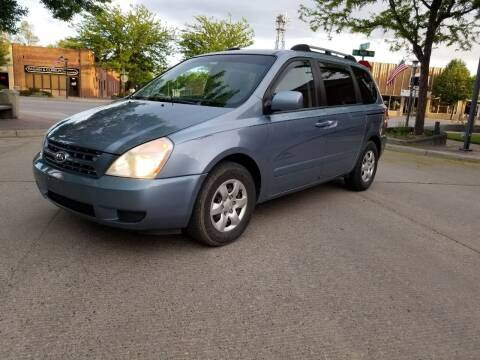2008 Kia Sedona for sale at KHAN'S AUTO LLC in Worland WY